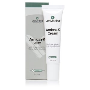 Arnica+K Cream Bottle and Product Box